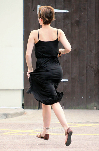 Emma Watson gives a Hell of a Show outside Tesco in London, Aug 5