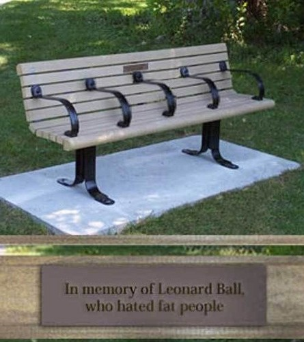 Evil bench