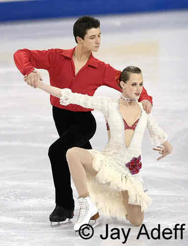 Tessa Virtue & Scott Moir wallpaper probably containing a portrait entitled FOUR CONTINENTS FD Canada 2006
