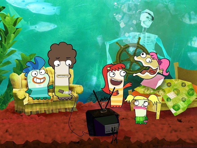 Fish hooks images fish hooks wallpaper and background for Fish hooks disney