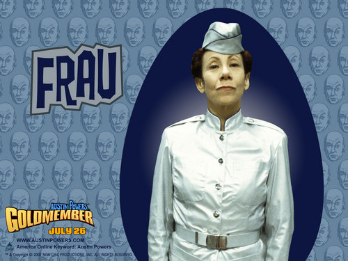 Frau Wallpaper