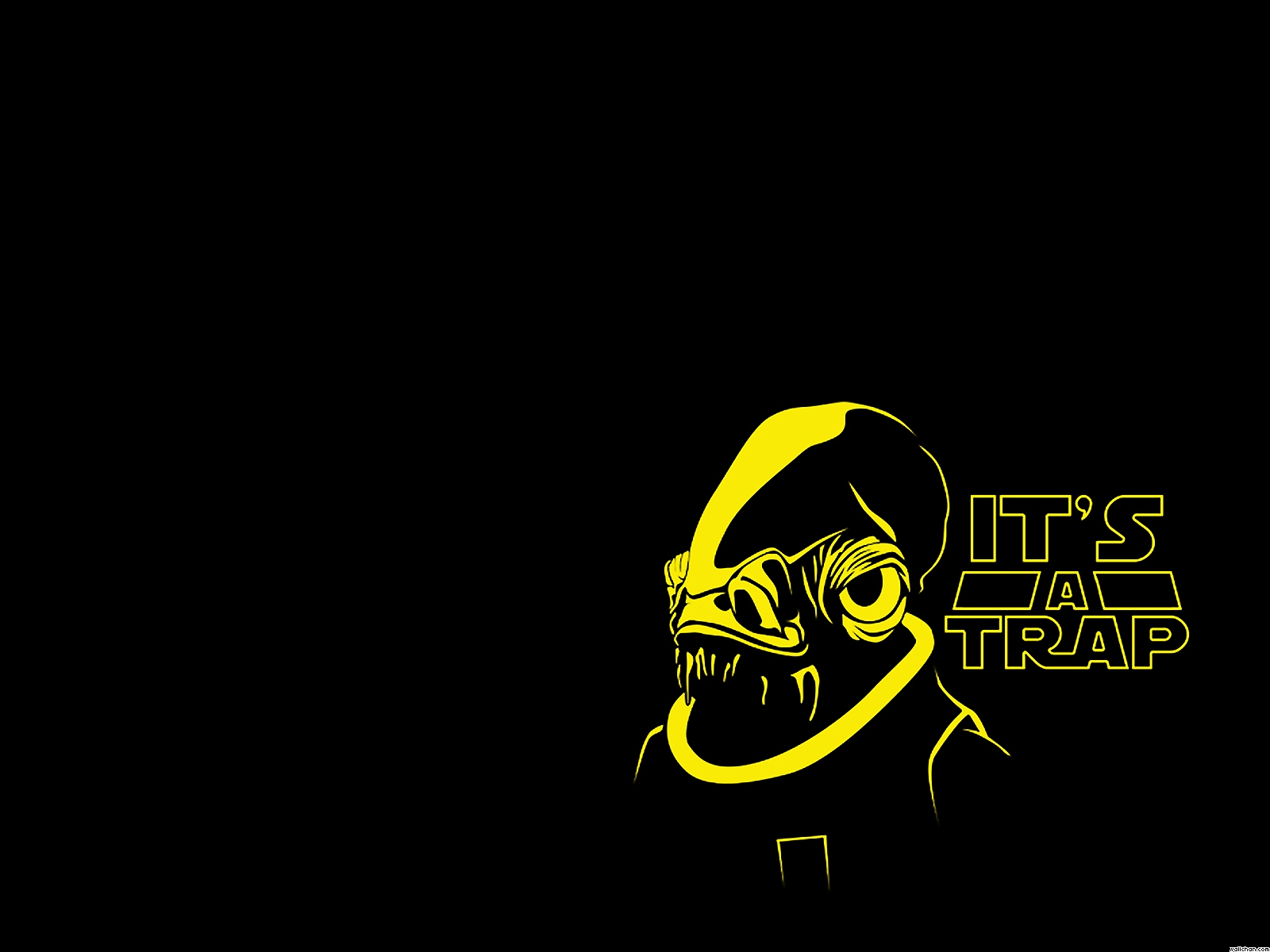 Star Wars Funny Admiral Ackbar WallpaperIts A Trap Wallpaper