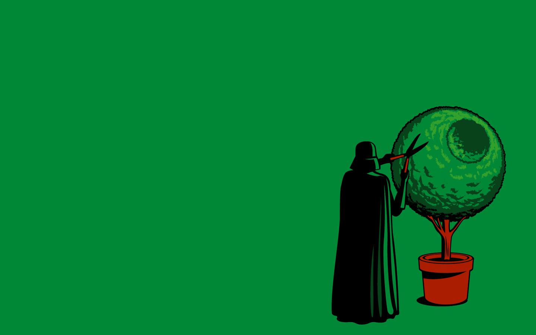 Funny Darth Vader wolpeyper