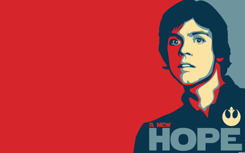Funny Luke Skywalker wallpaper