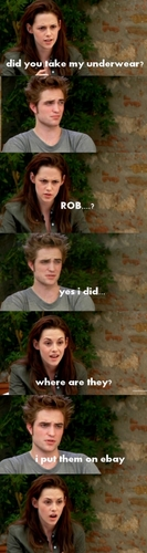 Funny Rob and Kristen