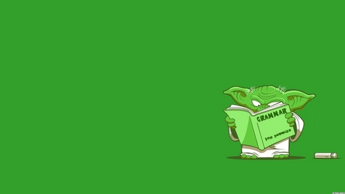 Star Wars wallpaper called Funny Yoda Wallpaper