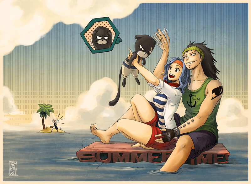 gajeel x levy family - photo #8