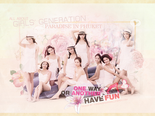 Girls' Generation Parradise In Phucket
