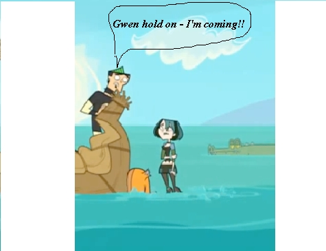 Gwen drowns