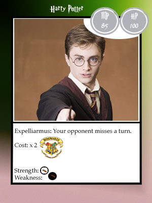 HP Trading Cards