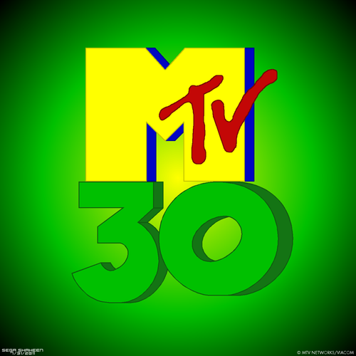 Happy 30th Anniversary for mtv