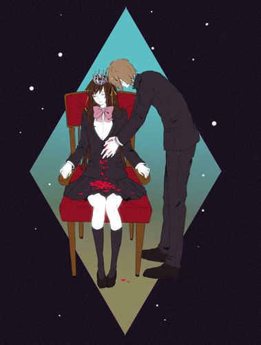 Haruhi is Itsuki's queen.