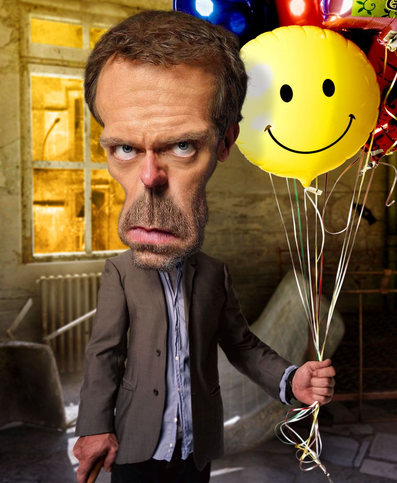 HouseMD (Hugh Laurie) caricatures