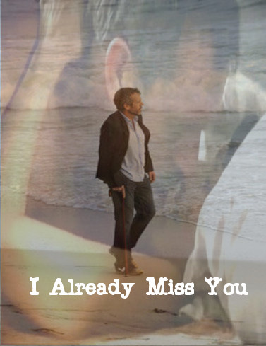 Huddy wallpaper with a fountain and a business suit entitled I miss you