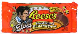 Elvis Presley kertas dinding probably containing a nougat bar and a canned meat called I want these!