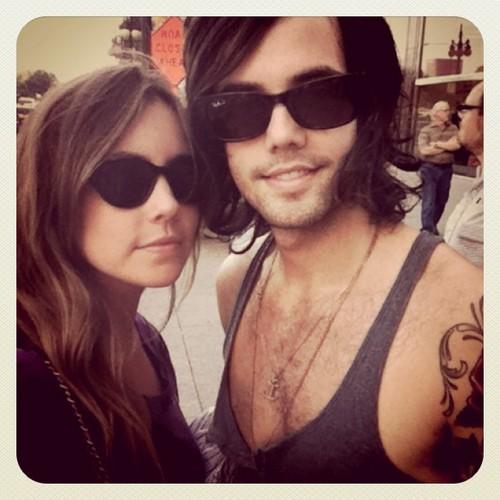 Ian and his Girlfriend