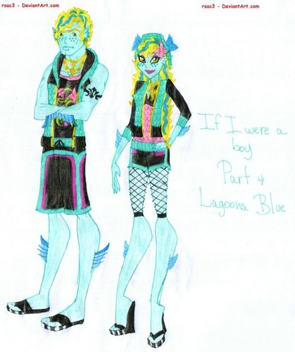 Monster High fond d'écran probably with animé called If I were a boy collection