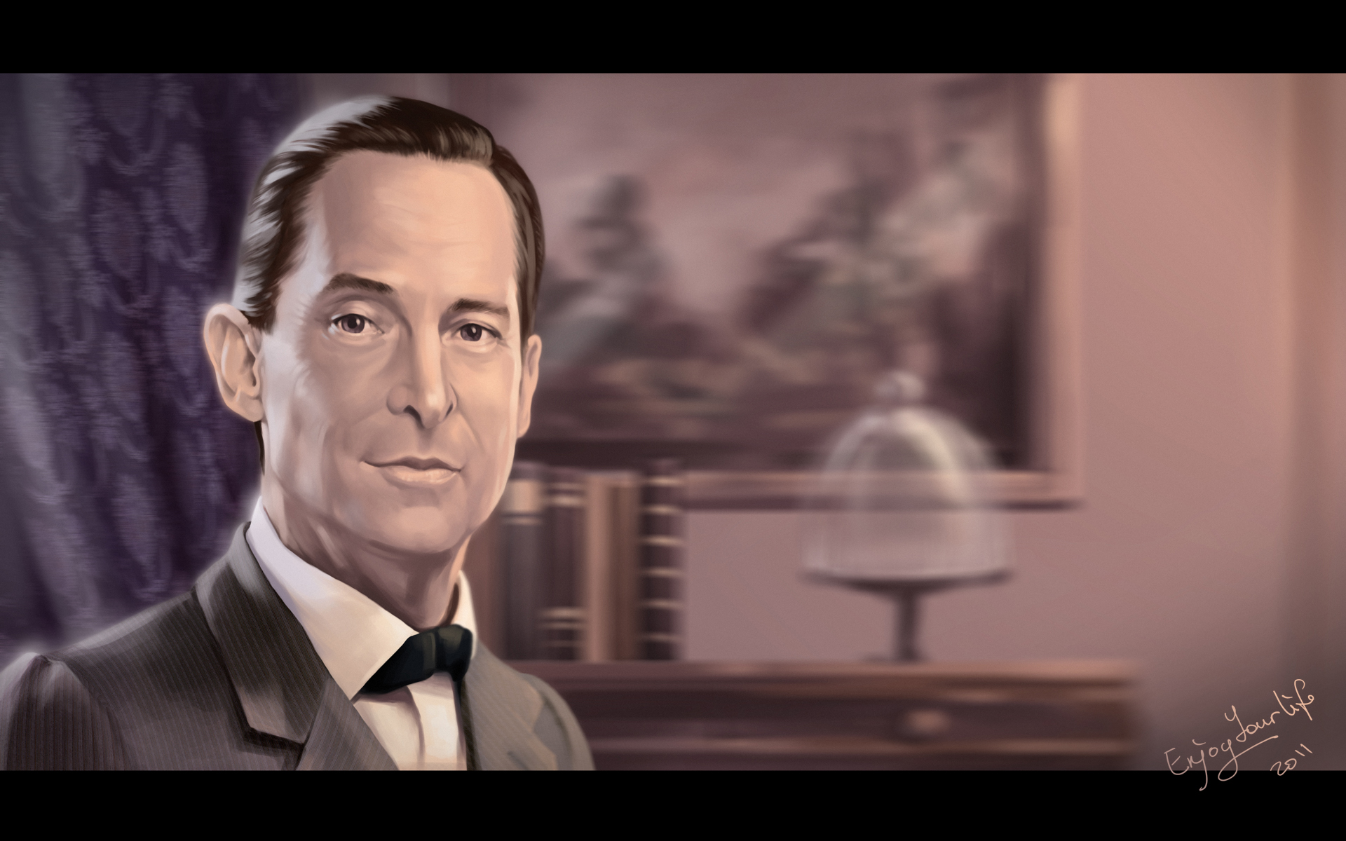 J. Brett as Sherlock Holmes