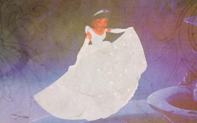 ジャスミン as シンデレラ