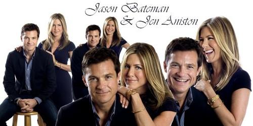 Jason Bateman 壁紙 probably with a portrait entitled Jason Bateman & Jen Aniston