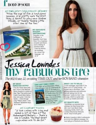 Jesscia Lowndes - Fabulous Magazine