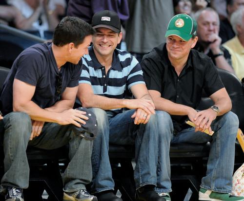 June 15 2008 - celebritàs At NBA Finals Game 5 LA Lakers Vs. Boston Celtics