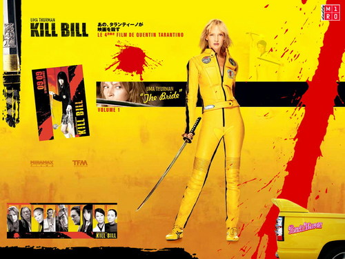 Kill Bill پیپر وال entitled Kill Bill