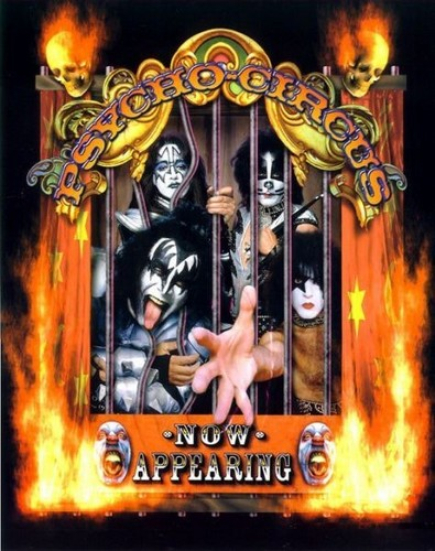 Kiss In concert - Psycho Circus Tour 1998