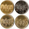 চুম্বন coin 1980