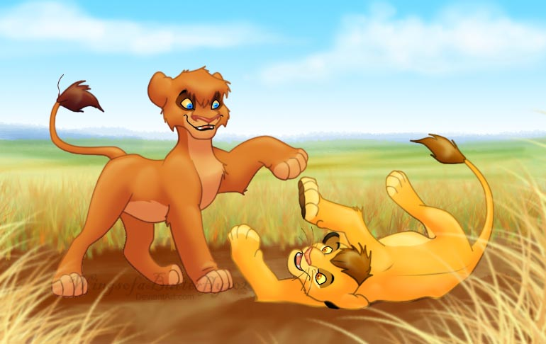 The lion king vitani and kopa - photo#12