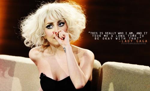 Lady Gaga nukuu