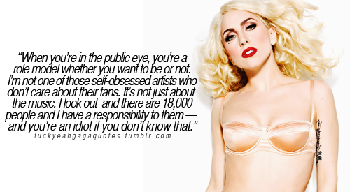 Lady Gaga citations