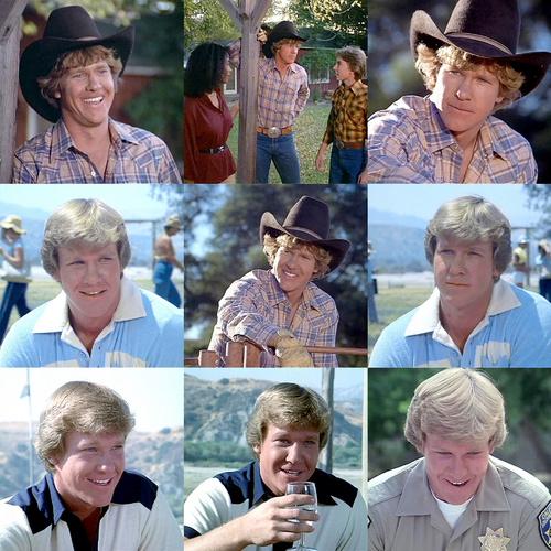 Larry Wilcox as Jon Baker collage