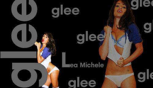 Lea Michele fondo de pantalla