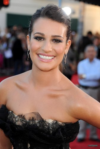 """Lea @ The Premiere of """"Glee The 3D 音乐会 Movie"""""""
