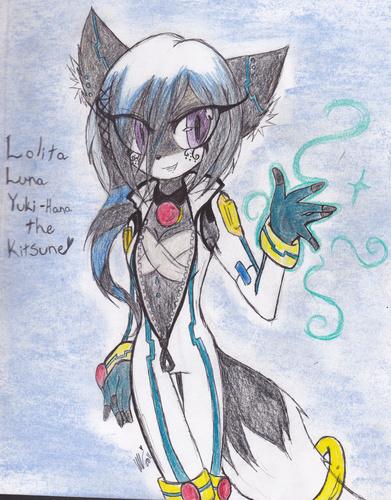 Lolita Luna Yuki-Hana The Kitsune~