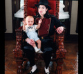 MICHAEL AND HIS KIDS - the-mj-fanpop-family-love photo