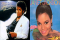 MICHAEL JACKSON AND JANET JACKSON 1982 ALBUMS