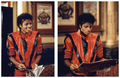 MJ on set of Thriller - michael-jackson photo