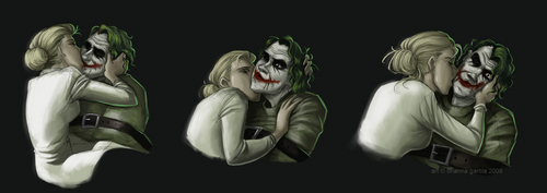 harley quinn and joker kiss - photo #23