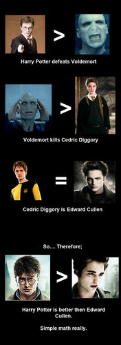 Harry Potter Vs. Twilight wallpaper entitled Math