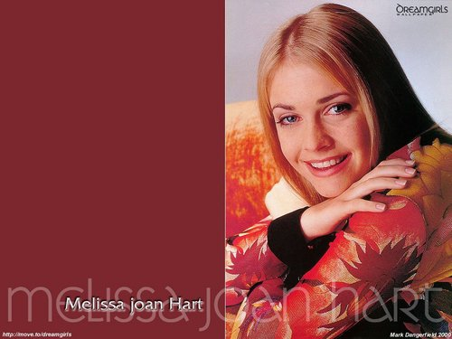 Мелисса Джоан Харт Обои with a portrait called Melissa Joan Hart