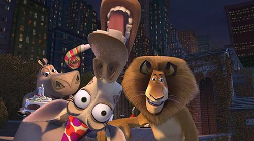 Melman, Alex and Gloria