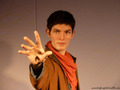Merlin waxwork at warwick castle - merlin-the-young-warlock photo
