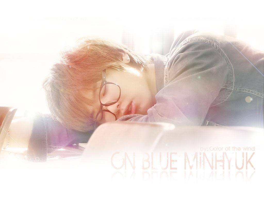 Min Hyuk cute Обои