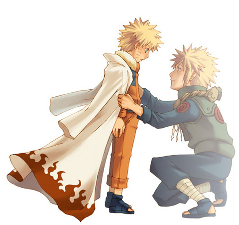 Naruto and DAD - naruto-shippuuden Fan Art