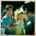 Nate,Serena and Chuck<333