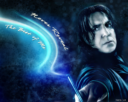 alan rickman fondo de pantalla titled Never Reveal
