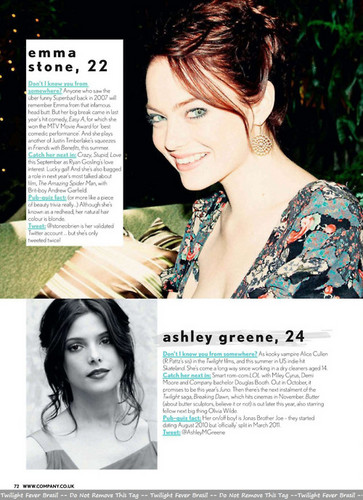 New Scan of Ashley in 'Company' magazine (UK; September issue)