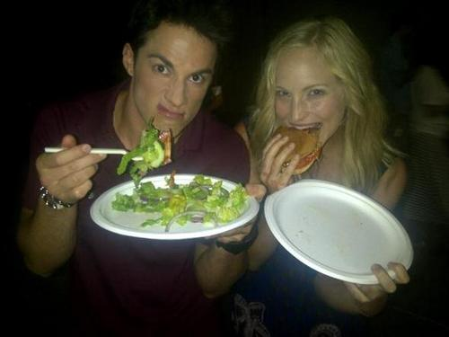 New Twitter pic of Candice and Michael!